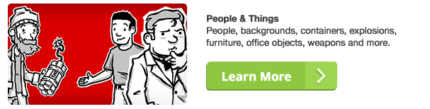 AE模板:二维卡通角色素描插图故事板讲解员信息图表模板MisterHorse Whiteboard Kit - Infographic  免费下载